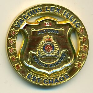 Manitoba-Police-Altona-Department-Members-Presentation-Medal-Cased