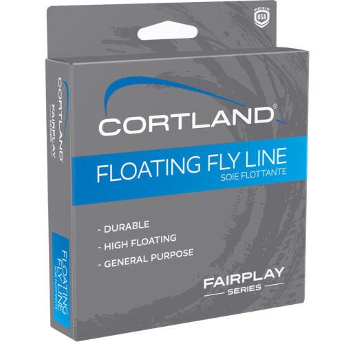 environ 25.60 m WF 7 F 326071 Nouveau Cortland Fairplay Flottant Fly Ligne Assortis 84 FT