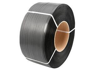 PP-Umreifungsband 12,0 x 0,55 mm 200 mm Kern schwarz 3000 m