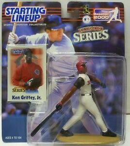 2000 KEN GRIFFEY JR. Ext. Starting Lineup SLU - Sports Figure - CINCINNATI REDS