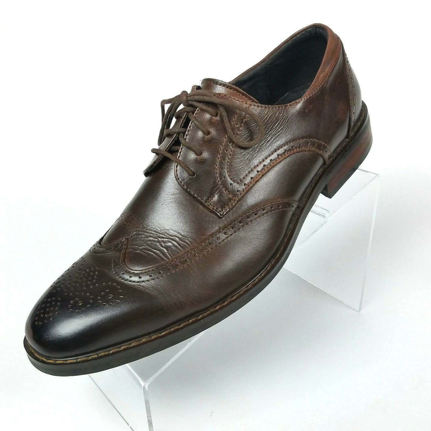 Joseph Abboud Abboud Abboud Wingtips braun Oxfords Dress schuhe Mens Größe 10 D d94a58