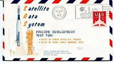 1972 Satellite Data System SDS Kennedy Space Center NASA U.S. AIR MAIL SPACE