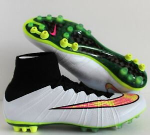 ad5faa80e ... coupon for image is loading nike mercurial superfly ag r white volt  black cae86 e5cd5