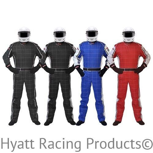 Racing Fire Suits >> Details About Pyrotect Ultra 1 1 Piece Auto Racing Fire Suit Sfi 1 All Sizes Colors