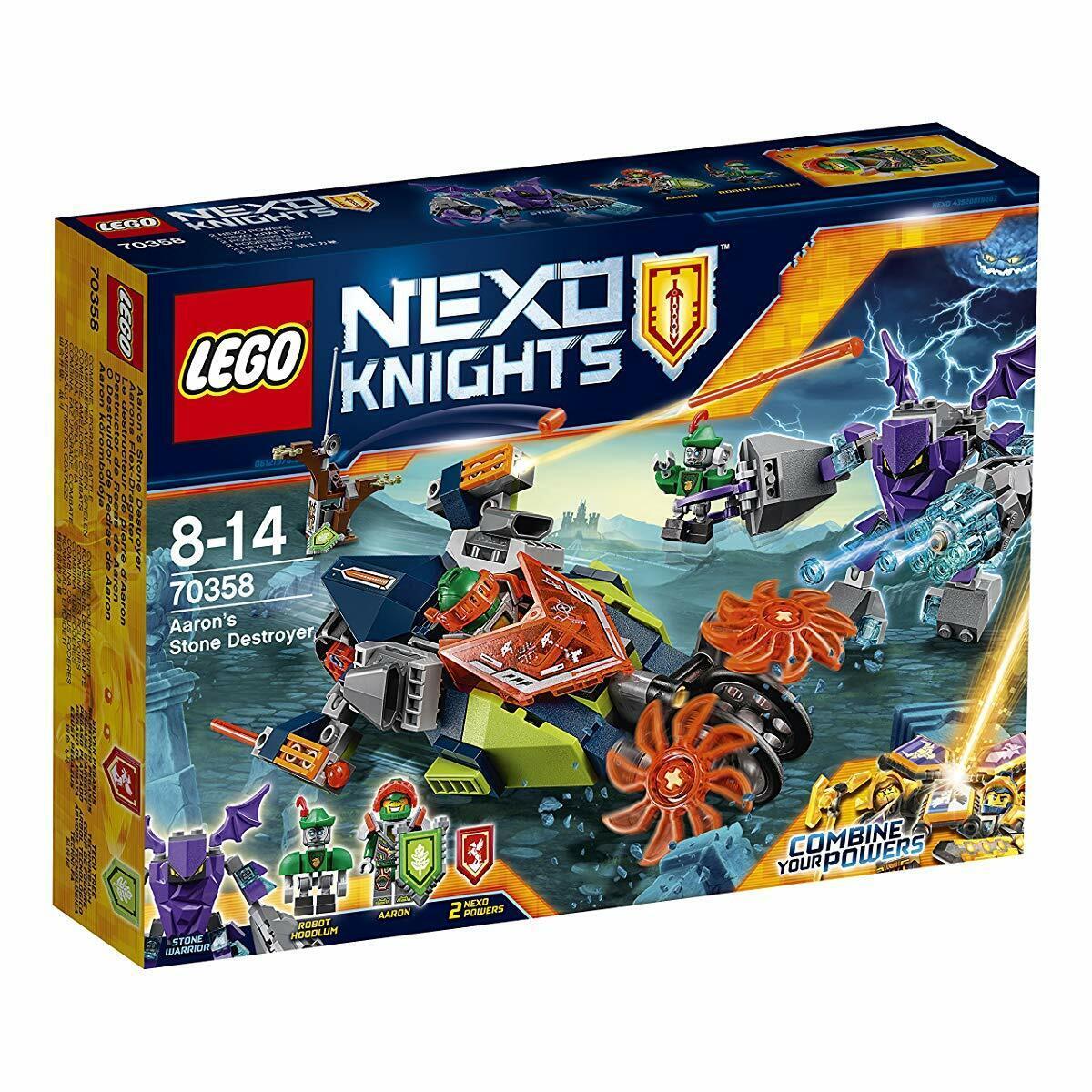 Lego nexo Caballeros Aaron's Piedra destructor 70358 Japón