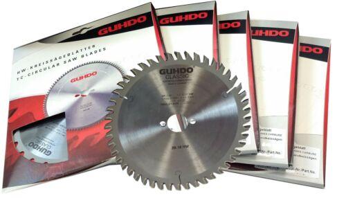 5 Stück HM-Handkreissägeblatt//Sägeblatt 160 x 20 Z 48 GUHDO für Festool