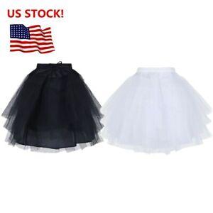 Petticoat-Tutu-Crinoline-Underskirt-Slips-3-Layers-for-Flower-Girl-Wedding-Dress