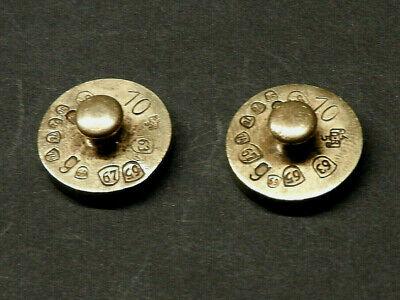 Offen 2 X Gewichtstein Gewicht 10 G Eichstempel 1963 - 84 Festsetzung Der Preise Nach ProduktqualitäT