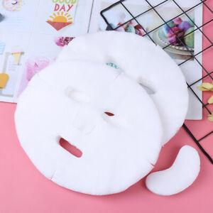 100-stueck-Gesichtsmaske-Papier-Einweg-Baumwolle-Vlies-DIY-Gesichtsmaske-Blatt-sp
