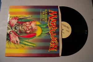Marillion-Garden-Party-Cucumber-Massacre-w-Poster-Record-lp-original-vinyl-album
