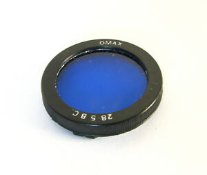 Omax-Bay-I-Bay-Blue-Filter-For-Rolleiflex-T-MX-EVS-Automat-Rolleicord-Va-Vb
