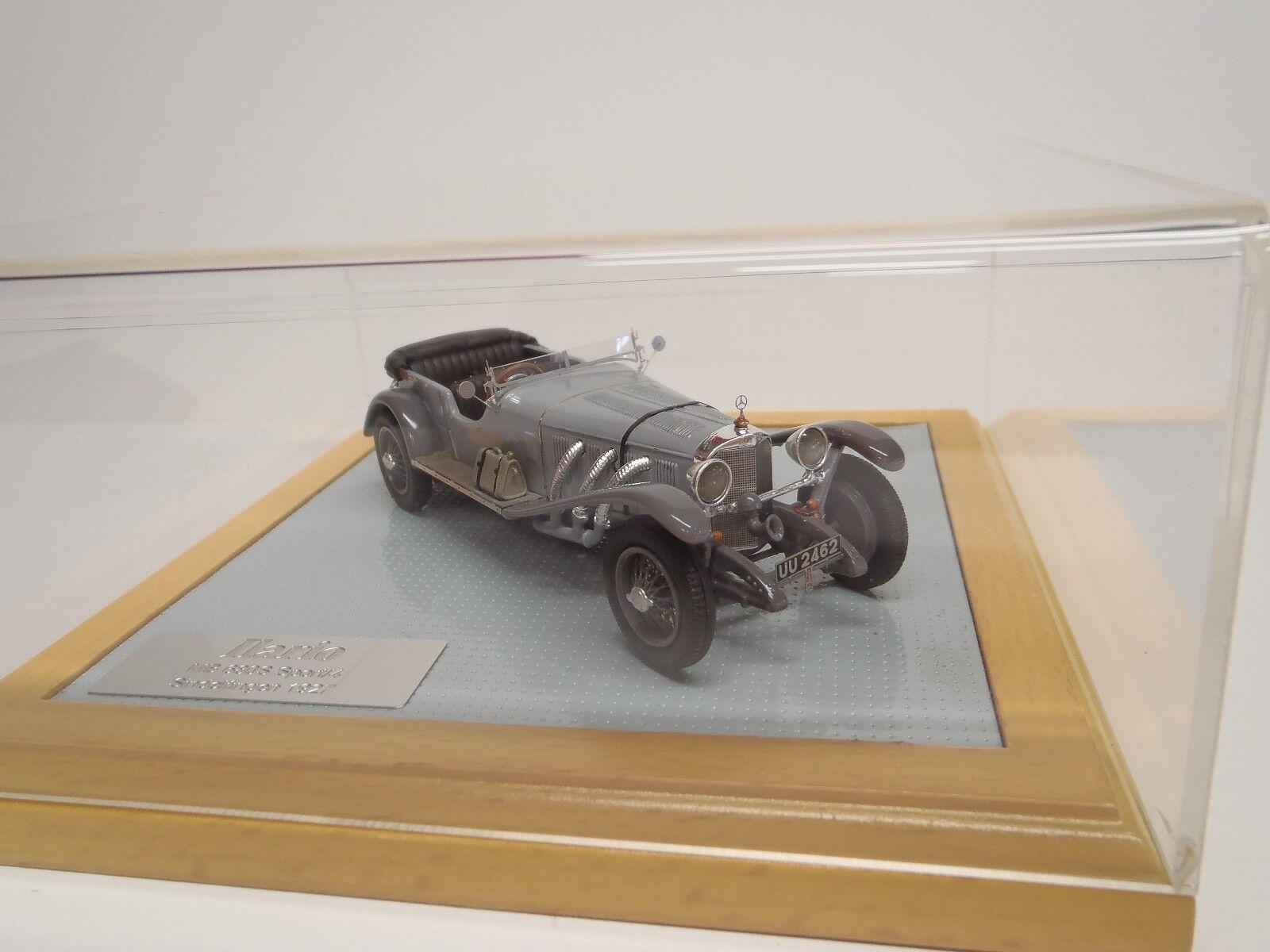 1927 Mercedes 680S Deporte 4 Tapa Abajo-grigio