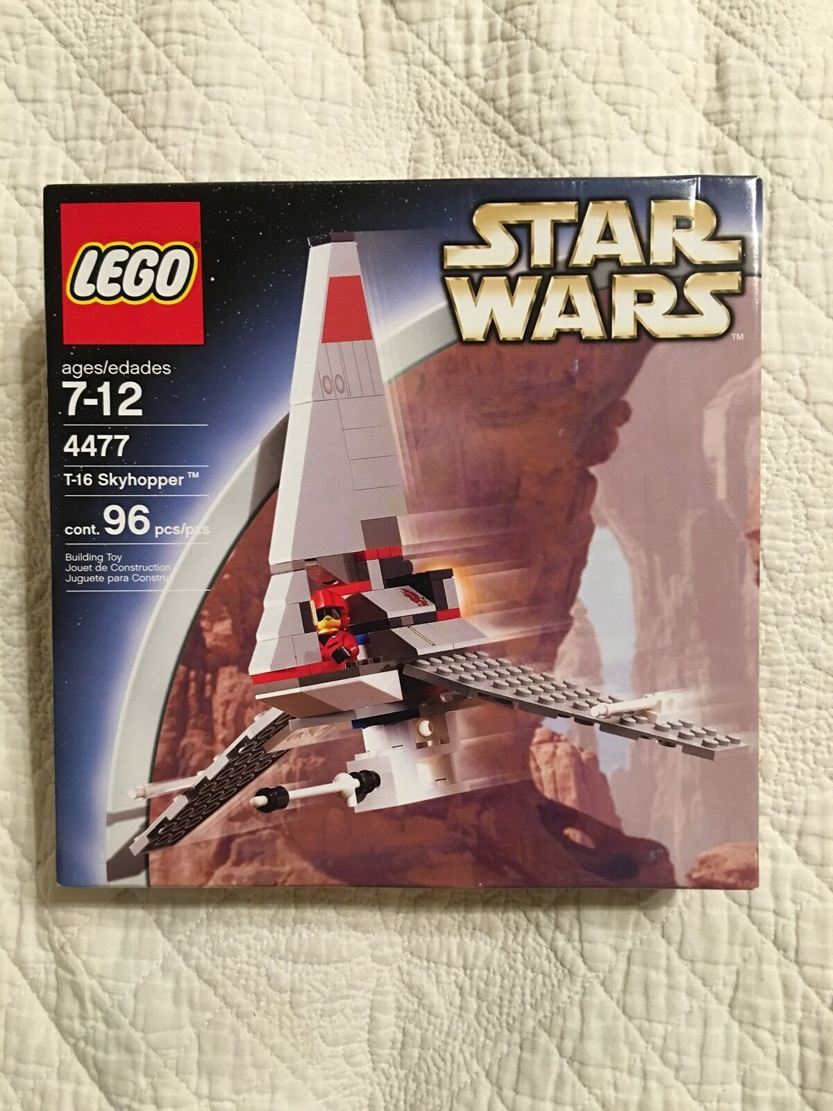LEGO T-16 Skyhopper 4477 Star Wars Factory Sealed New 96pcs