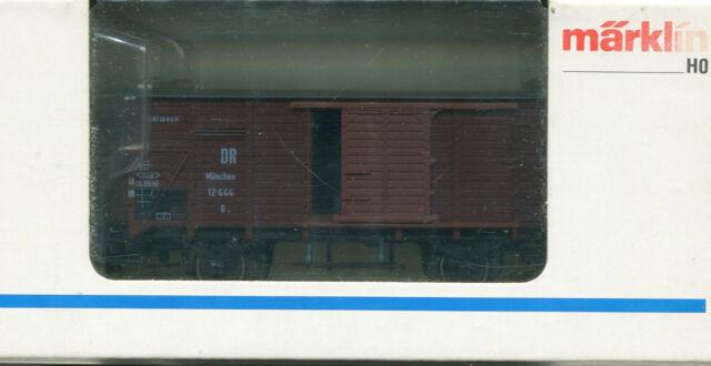 Märklin 4877,HO, 2-achs. gedeckter Güterwagen DR München,in OVP