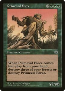 Force of Nature 5th Edition PLD Green Rare MAGIC THE GATHERING MTG CARD ABUGames