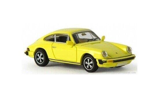 Brekina 16306-1//87 Porsche 911 G-Reihe  Grellgelb  Td Neu
