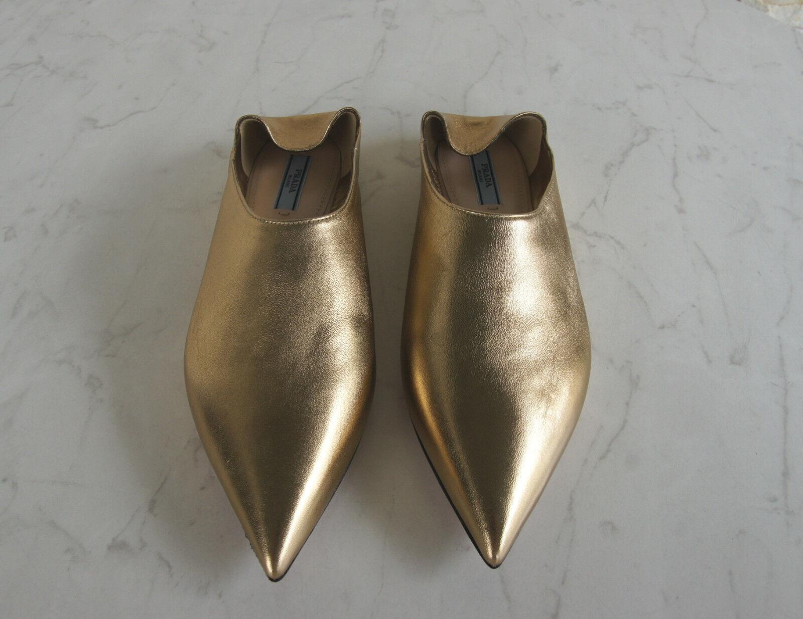 PRADA Gr 36 Pantoletten Slipper NEU Sabots 1S574H Schuhe Halbschuhe NEU Slipper ca2b44