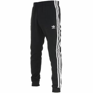 06c9d49f56 Details about ADIDAS SUPERSTAR TRACK PANTS Black-White cuffed old school new