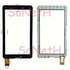 "Vetro Touch screen Digitizer 7,0"" Mediacom SmartPad 720M M-MP720M 3G Tablet Nero"