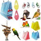 Pet Bird Parrot Parakeet Budgie Cockatiel Cage Hammock Swing Toys Hanging Toy N#