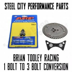 Details about Brian Tooley Racing 1 Bolt To 3 Bolt Cam Conversion Kit W/  ARP Bolts LS3 L92 L99