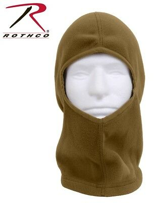 Balaclava Black Cold Weather With Dickie Neck Shoulder Warmer Rothco 5522
