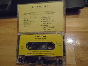 Details about RARE ADV PROMO PH Factor CASSETTE TAPE gospel r&b 1992 Black  Grass Andrew Gouche