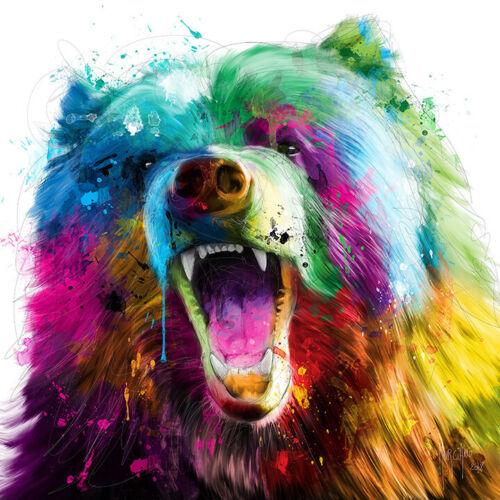 Bear Pop par Patrice Murciano Pop Art Imprimé Porte-clefs-Mugs-Art Imprimé