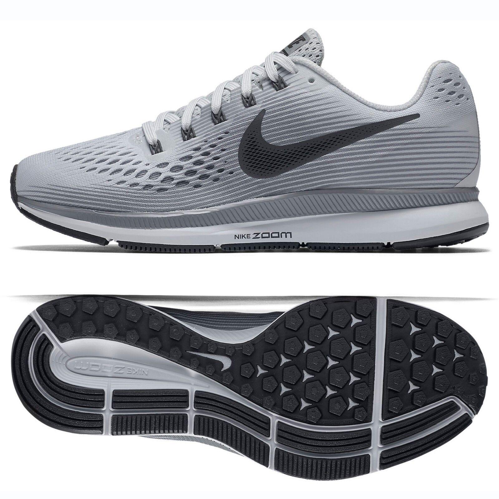 Nike WMNS Air Zoom Pegasus 34 880560-010 Platinum Anthracite Women Running shoes
