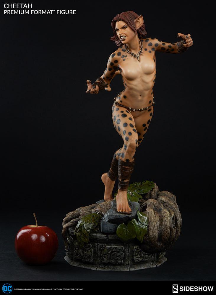 Dc 1/4 Premium Format Cheetah Statue Sideshow Collectibles 300476