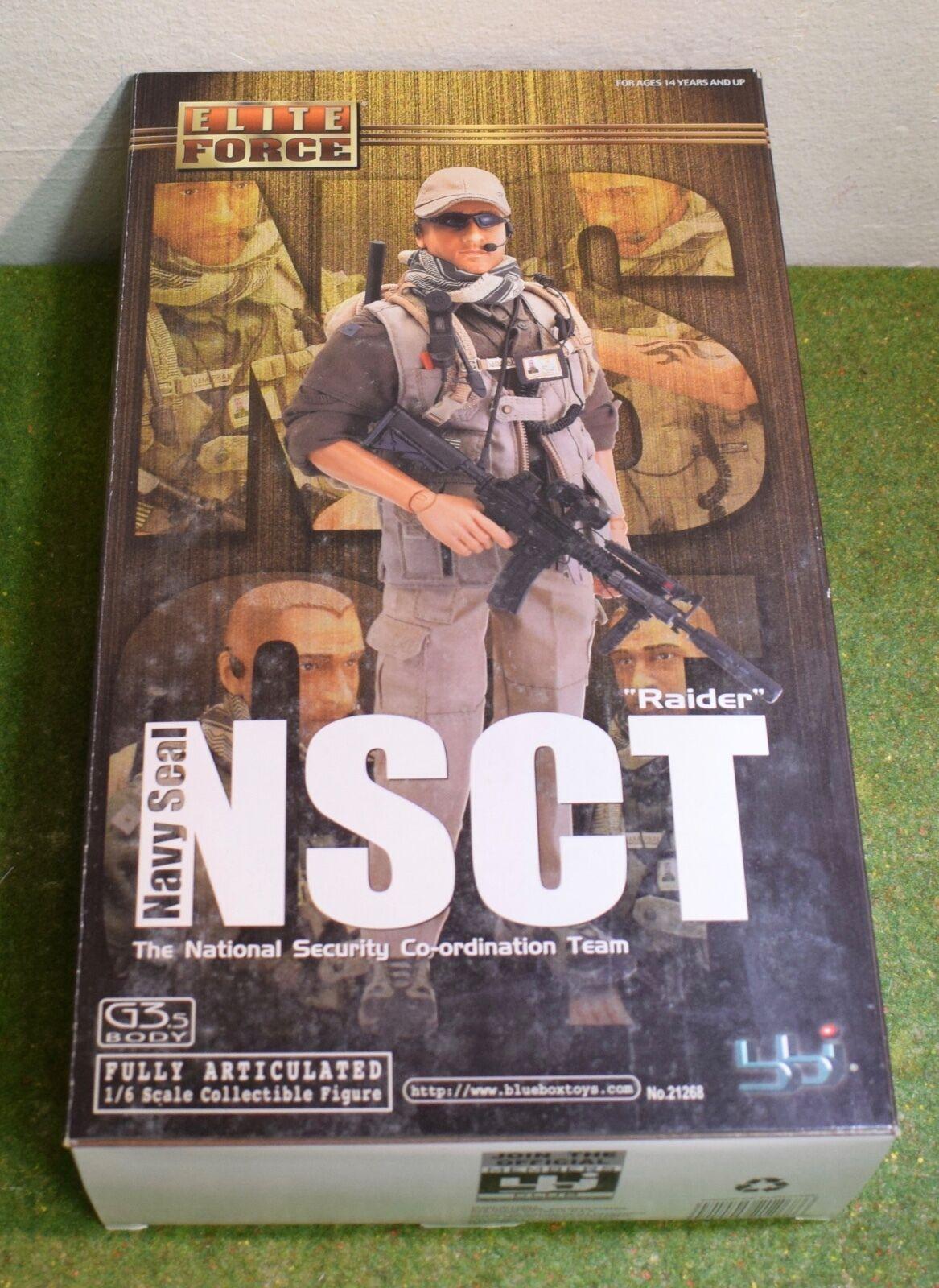 Elite FORCE-BBI - 1 6 - moderno-US-Raider-NSCT Navy Seal