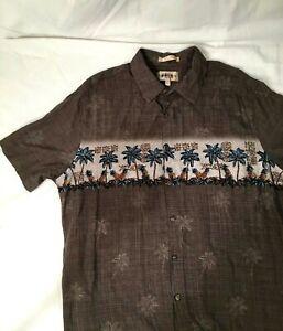 Campia-Moda-Hawaiian-Camp-Mens-2XL-Short-Sleeve-Shirt