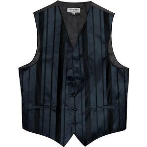 New Men/'s Royal blue formal vest Tuxedo Waistcoat/_necktie /& hankie set wedding