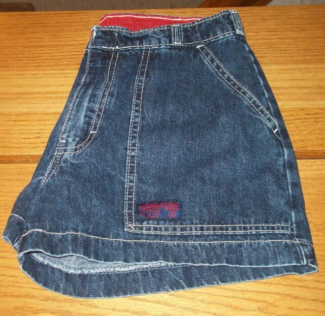 JORDACHE casual denim shorts tag size 3/4 3 4 actual W28 L3 rise 9
