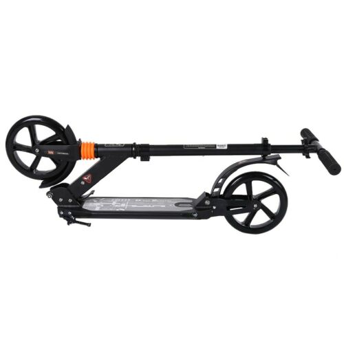 Kick Scooter Foldable Scooter For Adult Kids Portable Ride Adjustable Height BK