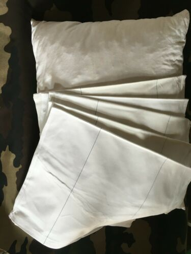 BW 6er Set Original Pillows Cushion Covers Cushions German Army