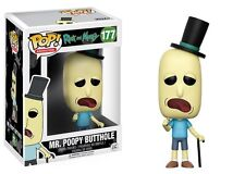 Mr. Poopy Butthole Rick and Morty TV Show POP! Animation #177 Vinyl Figur Funko