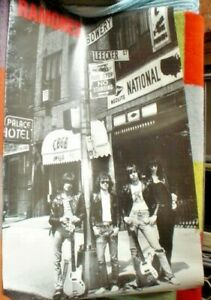 LARGE-OLD-S-H-MUSIC-POSTER-APPROX-85-X-58-CM-RAMONES