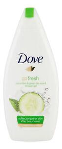 Dove Go Fresh Touch Cucumber Green Tea Shower Gel 500 Ml Body Wash 8712561611145 Ebay
