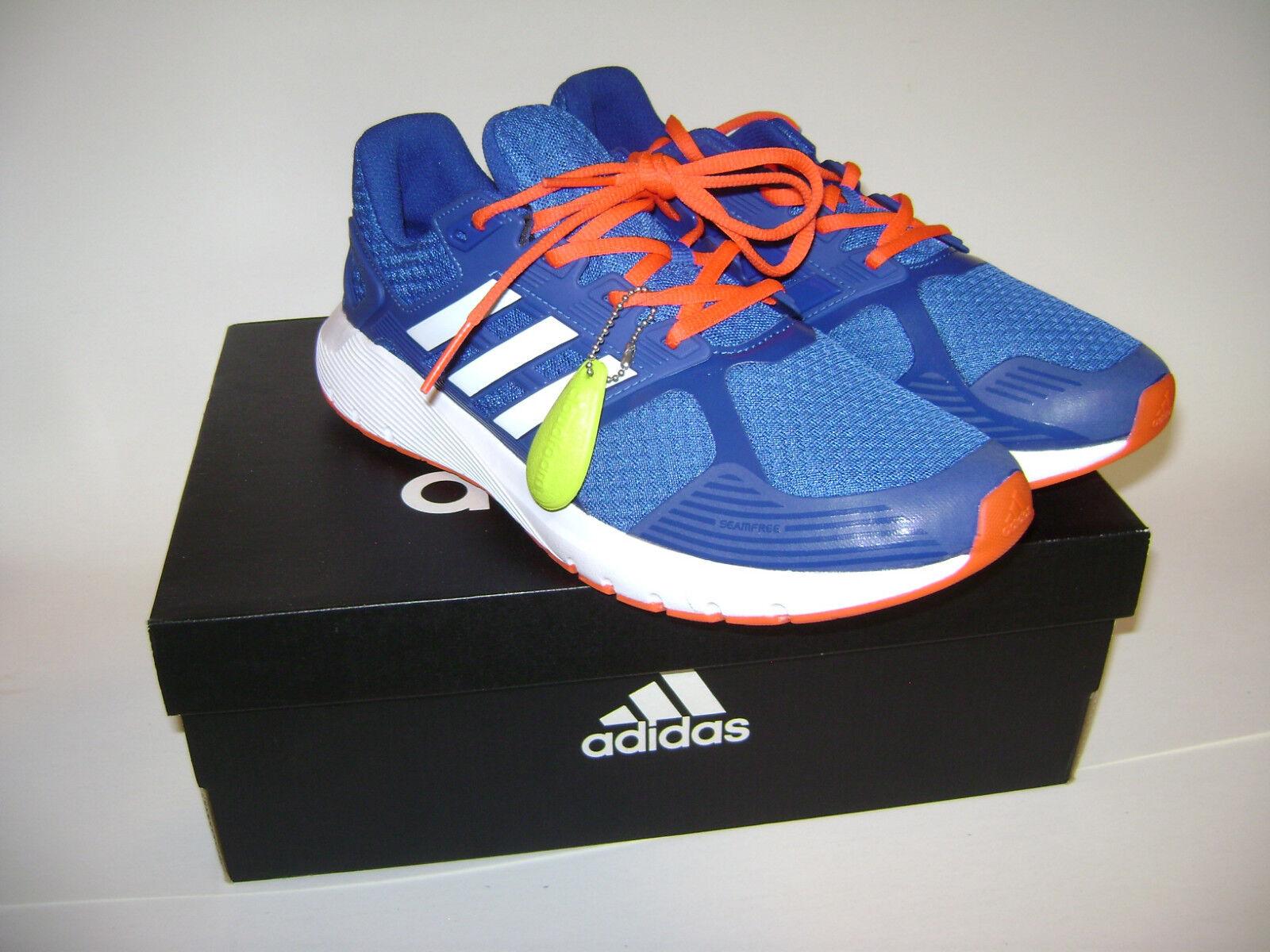 Pennino adidas duramo 8 uomini 'scarpe da ginnastica scarpe sz arancione 10 bianco e blu arancione sz bb4660 017d03