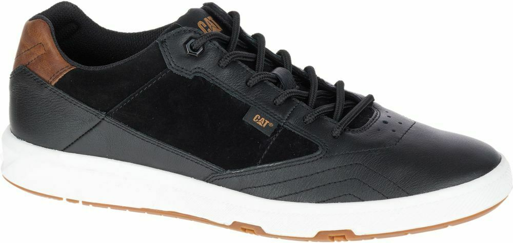 CAT CATERPILLAR Stat P722335 Leather Sneakers Casual Athletic shoes Mens New