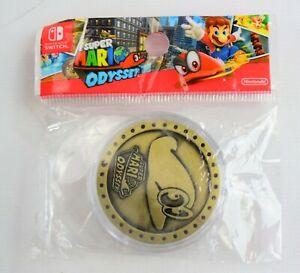 Super-Mario-Odyssey-Collectible-Cappy-Coin-NEW