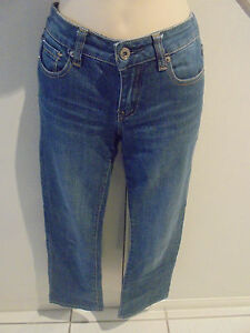 LADIES-JAG-JEANS-SIZE-6-MID-RISE-REG-FIT-BOOT-CUT-STRETCH-BLUE-JEANS