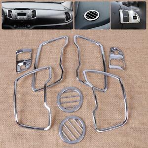 8-un-ajuste-2011-15-Kia-Sportage-R-Cromado-Interior-de-ventilacion-de-aire-conducto-Recortar