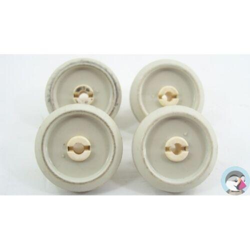 2372351 MIELE G656SC N°4 Roulettes pour panier inférieur pour lave vaisselle