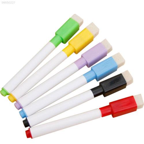 7192 Magnetischer Whiteboard-Stift Whiteboard-Stift 4 Farben Löschbar Tafel