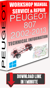 image is loading service-workshop-manual-amp-repair-peugeot-807-2002-