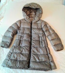 46c40971b Details about Moncler Jacket Doudoune Legere Youth Size 4y Light Gray Down  Puffer Parka