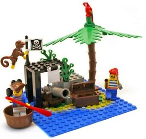 Lego Pirates Set 6260 Shipwreck Island 100 Complete From 1989 Vintage Ebay