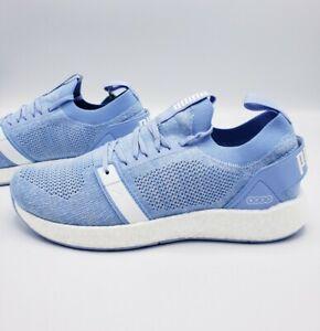Puma-Nrgy-Neko-Engineer-Knit-Blue-White-Running-Shoes-Women-039-s-Size-10